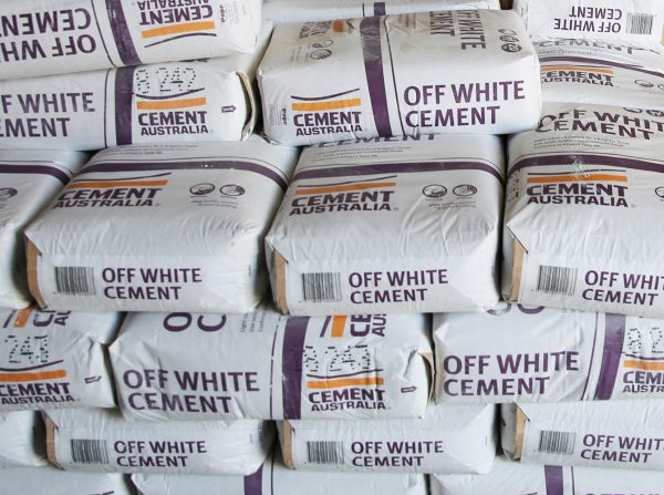 Cement Australia Off White Cement